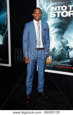 NEW YORK-AUG 4: Actor Arlen Escarpeta attends the