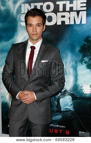 NEW YORK-AUG 4: Actor Nathan Kress attends the