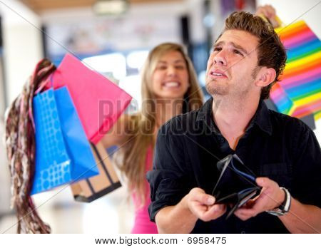 Man With An Emtpy Wallet