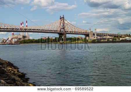 Queensboro Bridge And Power Plant