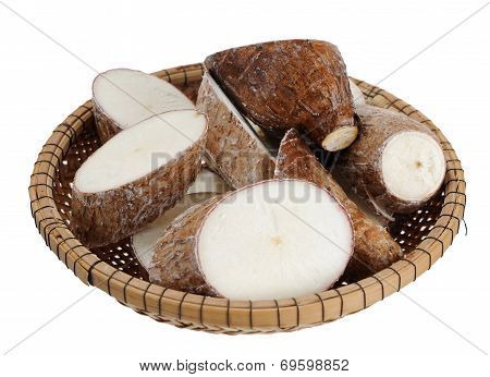 Sliced Manioc