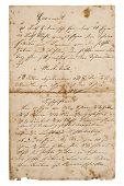 picture of recipe card  - old handwritten recipe from ca - JPG