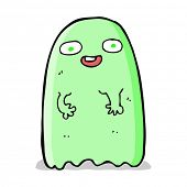 pic of funny ghost  - funny cartoon ghost - JPG