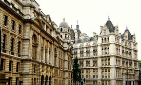 pic of commercial building  - A view of the street scene in London England - JPG