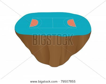 Handball Court Floating Island 1