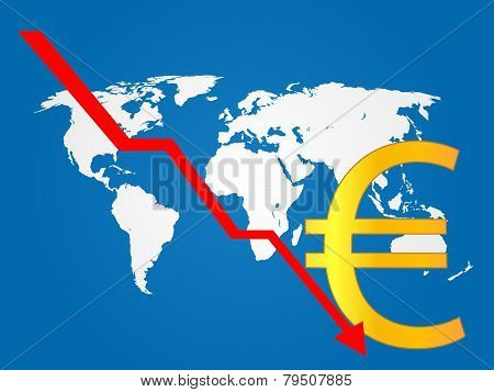 Global Economy Crisis Euro