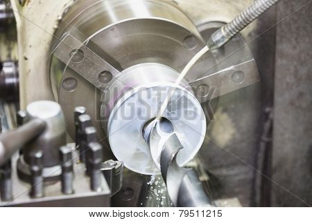 Drilling By Lathe Machine