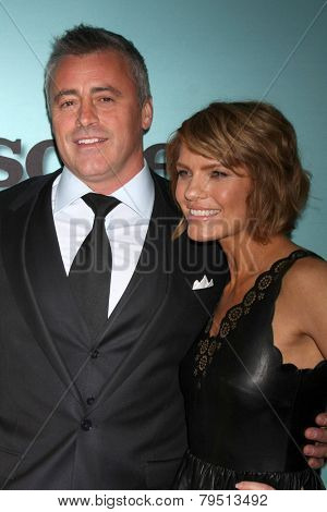 LOS ANGELES - JAN 5:  Matt LeBlanc, Kathleen Rose Perkins at the Showtime Celebrates All-New Seasons Comedies at Cecconi's on January 5, 2014 in West Hollywood, CA