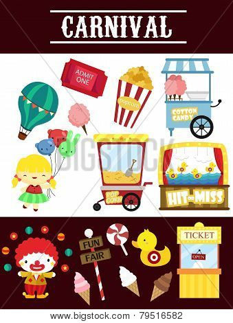 Carnival Vector Set.eps