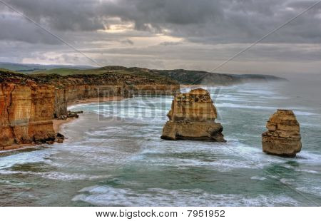 Coastal Cliff Landscape