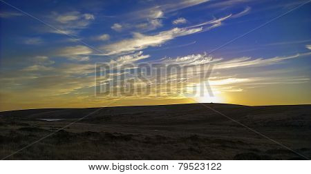 Sunset Moors