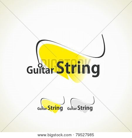 Logo Guitar String