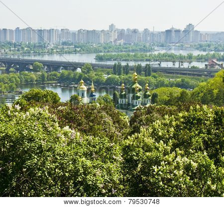 Kiev, Vydubictkiy Mihaylovskiy Monastery