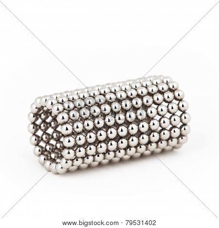 Magnetic Metal Balls In Tube Shape