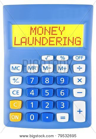 Calculator With Money Laundering