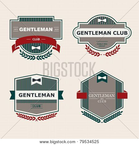 Gentleman club Labels