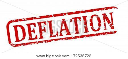 Red Stamp Deflation