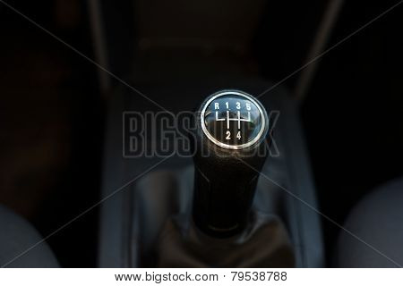 Gearshift Closeup