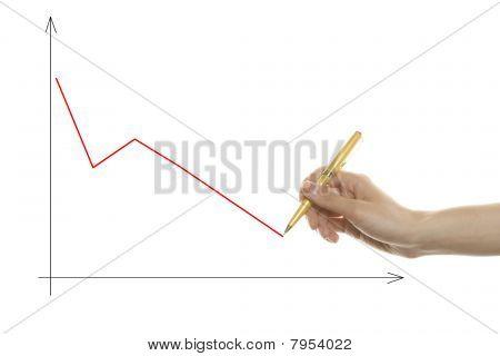 Desenho gráfico de mão