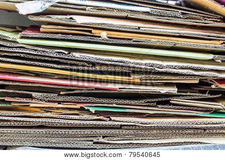 Stack Of Boxes Paper.