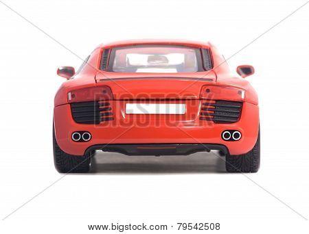 Red Car Audi R8