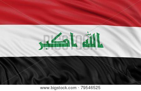 3D Iraqi flag