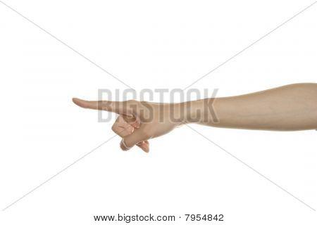 Gesture indicates