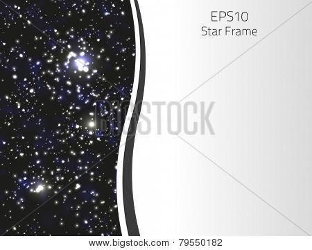 Star frame for your design.