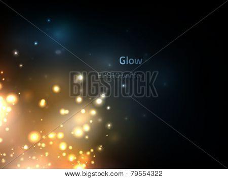 EPS10 vector glow