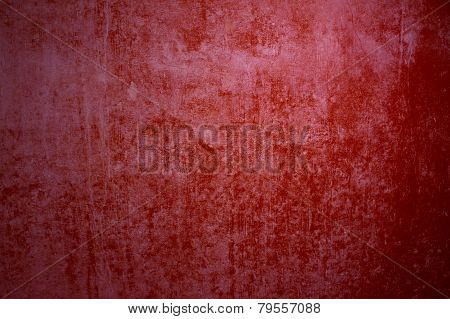 Grunge wall red