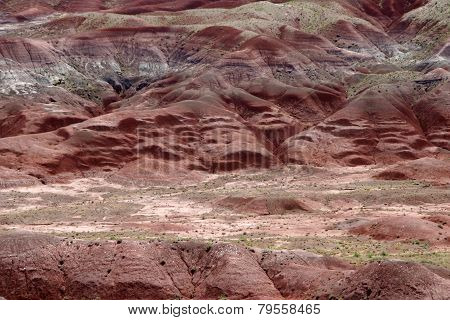 Painted Desert Colors And Textures