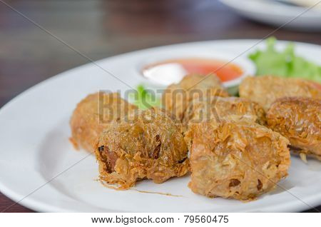 Crab Meat Roll