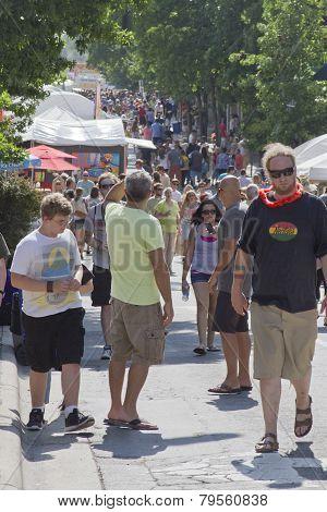 Asheville Bele Chere Street Festival 2013