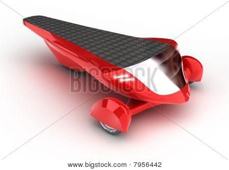 Solar concept car