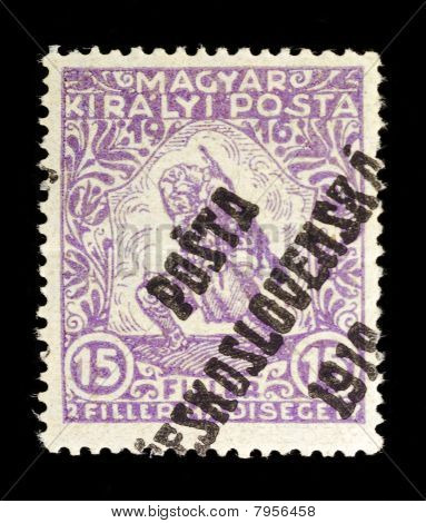 Old Stamp From Hungary