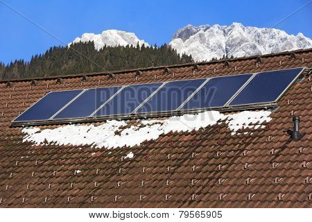 Roof With Solar Panels