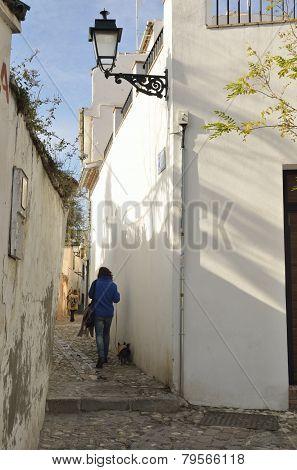 Moorish Street In Granada