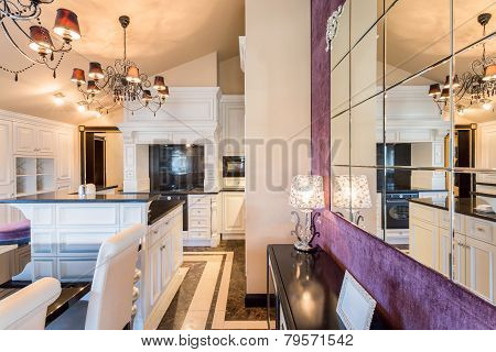 Baroque Style Kitchen