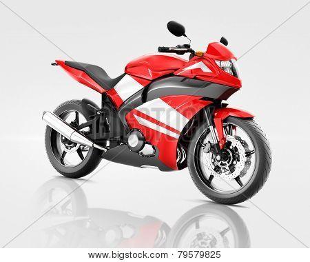 Motorcycle Motorbike Vehicle Riding Transport Transportation Concept