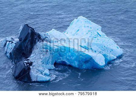 Arctic Iceberg. Area Novaya Zemlya