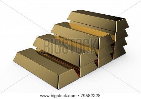 Golden Bricks Ledder