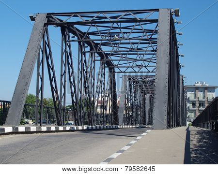Steel bridge.