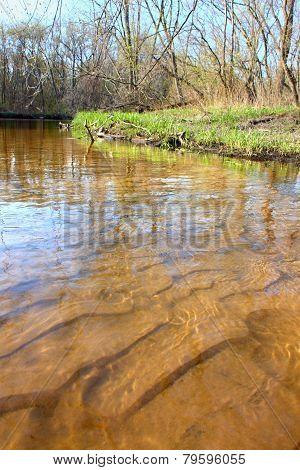Sugar River Landscape Illinois