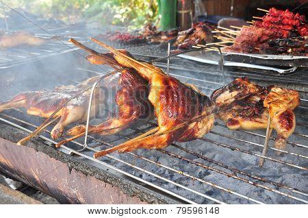 Roasting Chicken On Stove