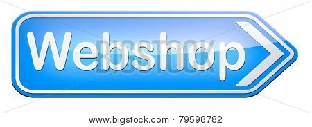 web shop online shopping  for internet webshop or store