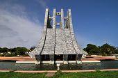 stock photo of memorial  - Kwame Nkrumah Memorial Park - JPG