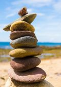pic of fulcrum  - Simplicity in Inspiration Zen Pebbles  - JPG