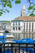 picture of zurich  - Zurich urban view - JPG