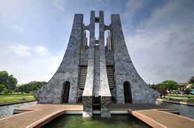 image of memorial  - Kwame Nkrumah Memorial Park - JPG