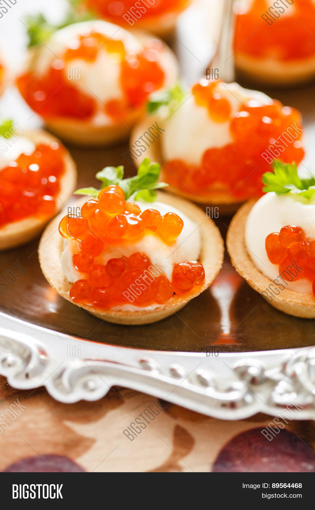 Canape with caviar stock photo stock images bigstock for Canape with caviar